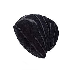 09def907a19 iSweven Stretchable Skull Cap (4021) For Boys Mens Women Girls Woolen  Knitted Hat Winter