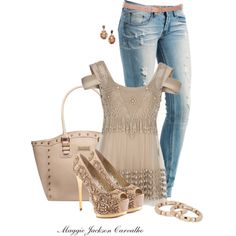 Sexy Jeans, Sexy Top, Sexy Heels by maggie-jackson-carvalho on Polyvore