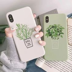 Fashion Summer Fresh Leaf Case For iPhone Cute Phone Cases - OandB Trade Phone Cases Samsung Galaxy, Diy Phone Case, Cute Phone Cases, Mobile Phone Cases, Phone Covers, Iphone Cases, Free Iphone, Iphone 8 Plus, Iphone 11