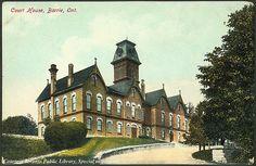 Court House, Barrie, Ontario, Canada    Creator: Walter Scott   Date: 1910