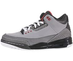 "Nike Air Jordan 3 Retro ""Stealth"" Mens Basketball « Clothing Impulse"