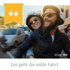 Los geht die wilde Fahrt Wilde, Mens Sunglasses, Fashion, Moda, Fashion Styles, Men's Sunglasses, Fashion Illustrations