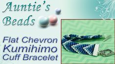 Chevron Cuff Kumihimo Bracelet