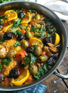These Moroccan Chicken Thighs are tender, rich with flavor and simple to make. C… These Moroccan Chicken Thighs are tender, rich with flavor and simple to make. Chicken thighs, carrots, onions and diced tomatoes cooked in Moroccan spices. // A Cedar Spoon Moroccan Chicken, Moroccan Spices, Morrocan Food, Comida Keto, Cooking Tomatoes, Tagine Recipes, Chicken Thigh Recipes, Chicken Thigh Stew, Recipe Chicken
