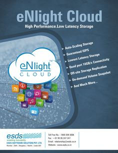 eNlight Cloud is a patented auto-scalable high performance cloud.
