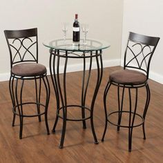 http://www.walmart.com/ip/Home-Source-Industries-3-Piece-Pub-Table-Set/38766528