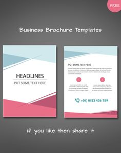 Award Brochure Templates  Brochure Design    Brochure