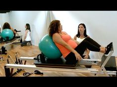 PreNatal Pilates & Ante Natal Pilates at Peacock Pilates Reformer Studio London W2 - YouTube