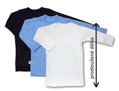 Prodloužené dětské tričko zabraňující holým zádům od českého výrobce. #trička #holázáda #děti Crop Tops, Women, Fashion, Tunic, Moda, Fashion Styles, Fashion Illustrations, Cropped Tops, Crop Top Outfits