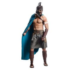 Men's 300: Rise Of An Empire - Deluxe Themistocles Costume - One Size Fits Most