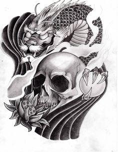 Fast Secrets # http://fastsecrets-clubs.com/japanese-dragon-tattoo-meanings/