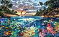 Resultado de imagen para paisajes del fondo del mar