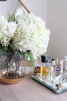 Pretty perfume platter.
