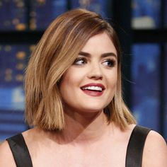 The Secret Two-Step Formula to Lucy Hale's Wine-Stained Lipstick Look: Lipstick.com