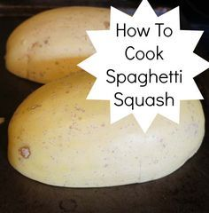 How to cook Spaghetti Squash. This is my new favorite food. It just tastes so much better than pasta and I honestly did not know that was possible.
