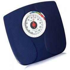 The easy way to control your weight, Easy to read, Fashionable style, Under Weight-Over Weight Indication, High Accuracy, Durable Construction. Specifications: Graduation: 500 gms, Capacity: 120 kgs, Accuracy: 1 to 60 kg: +- 1 Kg , 61 to 120 kg: +-2 kgs, Dimensions: 28.5 X 32 X 5.5 cms.