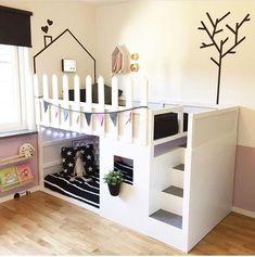Wohnideen: Wohnideen Schlafzimmer Wohnideen Schlafzimmer mommo design: IKEA KURA HACKS Source by