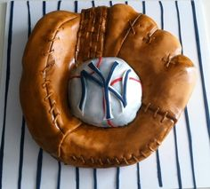 baseball cake...  Except red sox!!!