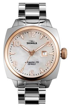 Shinola Shinola 'Brakeman' Bracelet Watch, 32mm available at #Nordstrom