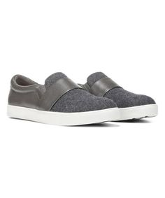 A flexible platform sole offers a modest height boost and ensures that this leather-trimmed sneaker bends comfortably to the swing of your stride.Part of the Original CollectionSlip-onLeather / textile upperTextile liningMemory Fit® foam cushioned footbedFlexible and durable rubber soleImported