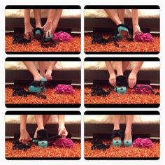 How to put on your Heel Condoms! Dress up your shoes! www.theheelcondoms.com
