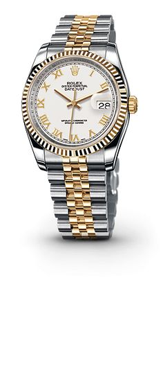 Rolex Model: 116233 Oyster, 36 mm, gold and steel