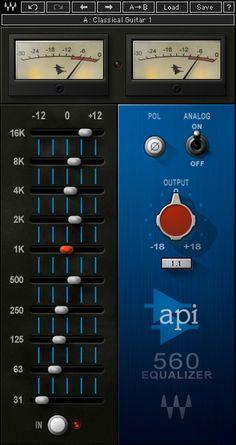 API 560 EQ Plugin   Waves