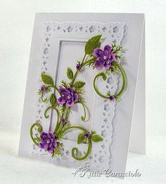 handmade card ideas for flower baskets - Google Search