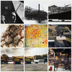 New Babylon van Constant babylon Lab, Photo Wall, Sketches, Models, Landscape, Architecture, Drawings, Building, Artist
