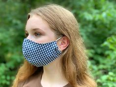 How to Make a DIY Fabric Face Mask   Sewing   Be Brave and Bloom Diy Clothes Projects, Diy Sewing Projects, Sewing Hacks, Sewing Tutorials, Knit Tie, Sewing Accessories, Lining Fabric, Mask Design, Sewing Techniques