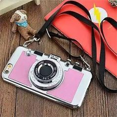 Wonder if i cpuld make similar for my android? Awesome Camera Design Iphone 6/6s Case
