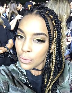 Yellow eyeshadow with black winged liner...Makeup for a Concert
