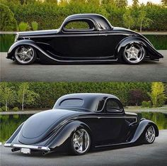 Black & Low Ford Street Machine