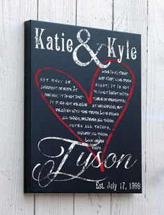 Personalized Canvas Art Wall Hanging Custom Home by JetmakDesigns