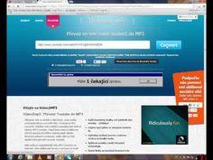 Jak převest video z youtube na mp3 žádne stahovani programu !! - YouTube Youtube N, Internet