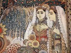 Art print cards  Armenian art  Folk art painting  by LupusShop #integritytt