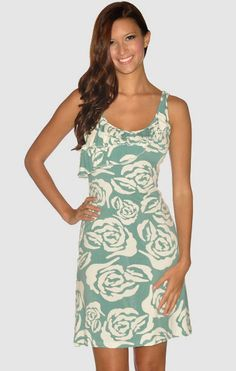 Loralei Dress White Bloom