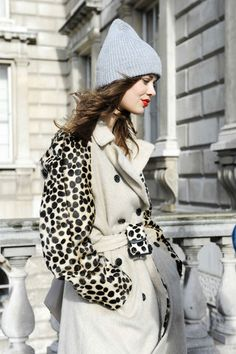 neutral colors + leopard details