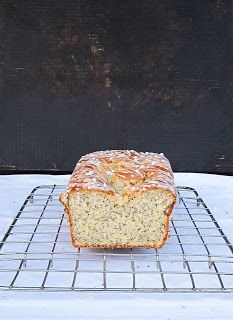 Lemon Poppy Seed Loaf Cake - trying this today - added 1/2 cup shredded coconut and used 1 tsp each lemon extract & coconut extract (also ran out of poppy seeds, so that ended up being half poppy and half chia seeds) - we shall see