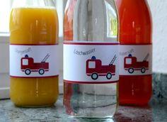 Feuerwehr - Party - Firetruck - Getränke -