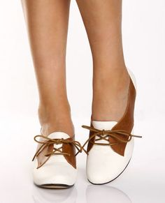 Tan tie up oxfords - Granny or Grawesome?