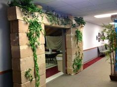 Exploring Biblical Places and Times: Make a Foam or Cardboard Block Wall or Arch