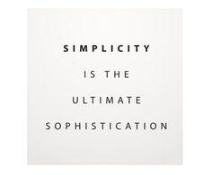 Placa de Madeira Estampada Simplicity - 29X29cm