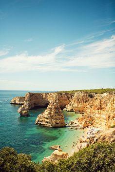 Praia da Marinha, Algarve,Portugal