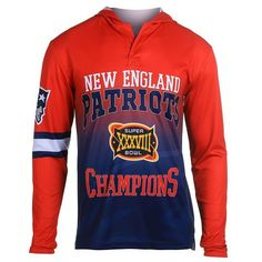 Formally license by NFL and New England Patriots. Printed Images Characteristics New England Patriots Symbol HandMade Merchandise! Imported 100% Polyester   Generic Sizing Men XS S M L XL XXL 3XL 4XL Neck (in.) ...  # Super Bowl 50