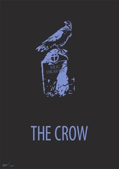 Movie Poster The Crow Brandon Lee, Bruce Lee, Crow Art, Raven Art, Art House Movies, Crow Movie, Badass Movie, The Crow, When Someone Dies
