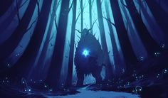 The Forest Spirit by ShahabAlizadeh on DeviantArt