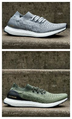 Don't miss out! The adidas Ultra Boost Uncaged is now available in grey, green, and red.