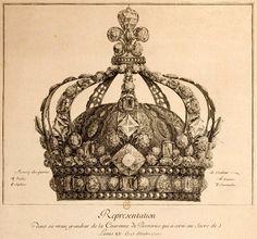 diamants de la couronne france couronne louis XV