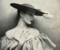 Photo by Karen Radkai for Harper's Bazaar, April 1952